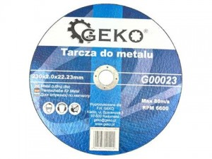 GEKO Tarcza do metalu 230x2,0mm