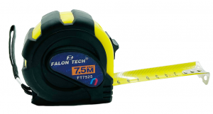FALON TECH Miara zwijana z magnesem blokadą 7.5m 25mm FT7525