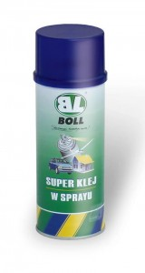 BOLL Super Klej mocny spray 400ml