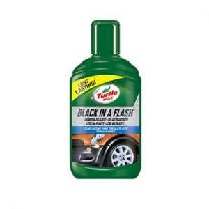 Turtle Wax Żel do renowacji plastików Black In A Flash 300ml