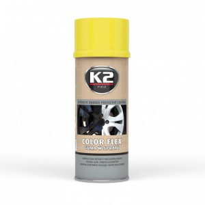 K2 Color Flex Guma w sprayu żółty 400ml