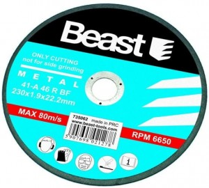 BEAST TARCZA TNĄCA DO METALU 230x1.9 mm