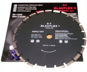 BLAUFLEX Tarcza do asfaltu 400x32mm