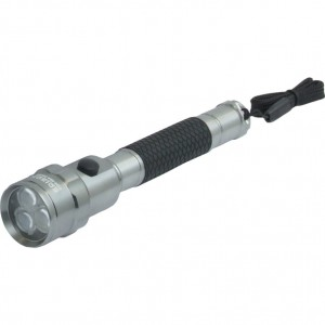 Edison Aluminiowa Latarka 3 LED Long