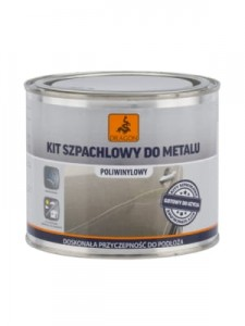 DRAGON Kit szpachlowy do metalu 620g