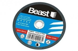 BEAST DYSK TNĄCY 115X1X22.2MM DO METALU